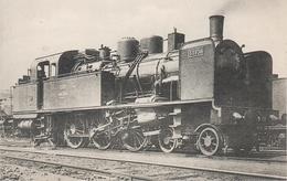 AK Les Locomotives Francaises Est 133 Locomotive Machine No 33938 Ex 232 TA 938 Chemin De Fer Train La Villette Paris ? - Pariser Métro, Bahnhöfe