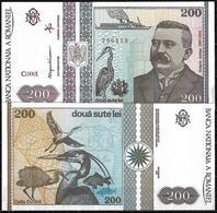 200 LEI BANKNOTE FROM ROMANIA EDITED IN DECEMBER 1992 - Romania