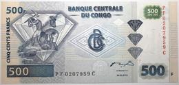 Congo (RD) - 500 Francs - 2002 - PICK 96Ba.2 - NEUF - Congo