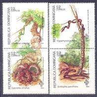 1994. Dominican Republic, Snakes, 4v, Mint/** - Dominican Republic