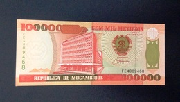 Mocambique, 1993- 100000 Meticais. Code FE. AU/SPL - Mozambique