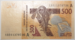 Côte D'Ivoire - 500 Francs - 2013 - PICK 119 Ab - NEUF - Westafrikanischer Staaten
