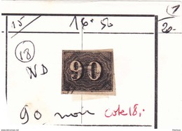 Bresil 15 90r Noir - Usados