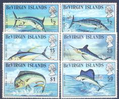 1972. British Virgin Islands, Fishes, Fishing Sport, 6v Mint/** - British Virgin Islands