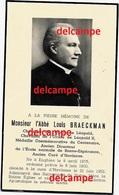 Doodsprentje Abbe Braeckman Enghien 1875 Cure A Havinnes En Overleden Deces 1952 Mortuaire - Images Religieuses