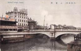 JAPON Japan - OSAKA : Shinsai Bridge - CPA Colorisée - Giappone Japão ASIE Asia Asien Azië - Osaka
