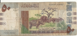 SOUDAN 50 POUNDS 2011 VG P 69 - Soudan