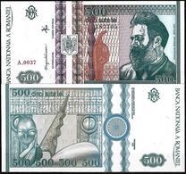 500 LEI BANKNOTE FROM ROMANIA EDITED IN DECEMBER 1992 - Romania