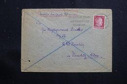 ALLEMAGNE / UKRAINE - Enveloppe Pour Hamburg En 1942 , Affranchissement Plaisant Surchargé - L 61348 - Ukraine