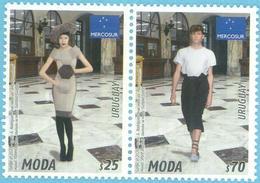 Uruguay 2020 ** Emision MERCOSUR. Moda: Alianza Europa - MERCOSUR. Textiles. - Textile