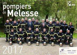 Calendrier PF Les Pompiers De Melesse 2017 (35) - Calendars