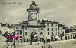 Lombardia, Lago Dia Garda,  Salo, Porta, Photo Of Old Postcard, 2 Scans - Luoghi