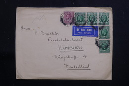 ROYAUME UNI - Enveloppe De Manchester Pour L 'Allemagne En 1935, Affranchissement Plaisant - L 61351 - Poststempel