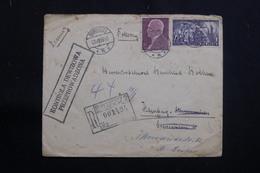 POLOGNE - Enveloppe En Recommandé De Bydgoszcz Pour L 'Allemagne En 1939 Avec Cachet De Contrôle - L 61352 - 1919-1939 République