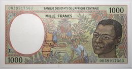 Gabon - 1000 Francs - 2000 - PICK 402Lg - NEUF - États D'Afrique Centrale