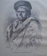 Le Bohémien RICO -  Grenade - Granada - Spain Espana, Engraving 1864 TDM1864.2.401 - Estampas & Grabados
