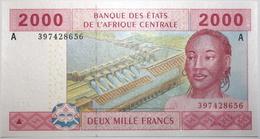 Gabon - 2000 Francs - 2010 - PICK 408Ac - NEUF - États D'Afrique Centrale