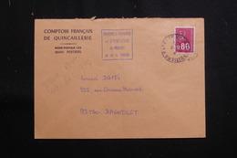 FRANCE - Enveloppe Commerciale De Poitiers  Pour Bagnolet Pendant La Grève Des PTT En 1974  - L 61354 - Marcophilie (Lettres)