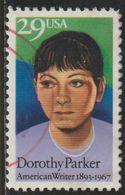 USA 1992 Scott 2698 Sello º Dorothy Parker (1893-1967) American Writer Estados Unidos United States Yvert 2110 - Vereinigte Staaten