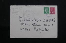 FRANCE - Enveloppe Commerciale De Lyon Pour Bagnolet Pendant La Grève Des PTT En 1974  - L 61355 - Marcophilie (Lettres)
