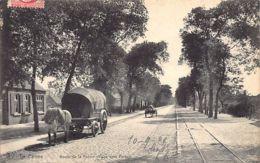 DE PANNE - Route De La Panne Village Vers Furnes - Ed. Les Abeilles. - De Panne