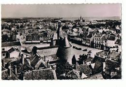 36 - ISSOUDUN - Panorama Vers Le Beffroi  - 122 - Issoudun