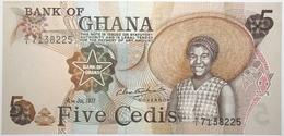 Ghana - 5 Cedis - 1977 - PICK 15b.2 - NEUF - Ghana