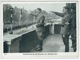 Deutsches Reich - Reichsparteitag Nürnberg 1938 - Vorbeimarsch Der HJ- Kolonnen Am Deutschen Hof - Hitler - Guerre 1939-45
