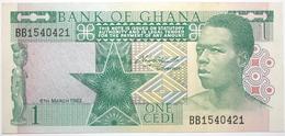 Ghana - 1 Cedi - 1982 - PICK 17b - NEUF - Ghana