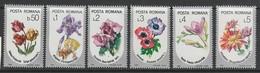SERIE NEUVE DE ROUMANIE - FLEURS DIVERSES N° Y&T 3677 A 3682 - Pflanzen Und Botanik