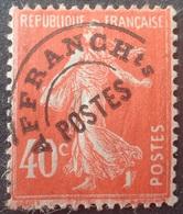 R1615/2051 - 1922/1947 - FRANCE - TYPE SEMEUSE CAMEE - PREO - N°64 NEUF(*) - 1893-1947