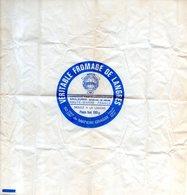 Publicité Pour Fromage De Langres Schertenleib Saulxures Val De Meuse (52) - Advertising