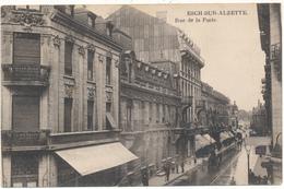 ESCH SUR ALZETTE - Rue De La Poste - Carte En L'état - Esch-Alzette