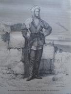 M. Le Docteur Hartmann - Nil, Africa -gravure -  Engraving 1864 TDM1864.2.420 - Estampas & Grabados