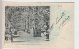 (93673) AK Roma, Il Salone Della Biblioteca Nel Palazzo Vaticano, 1899 - Vatican