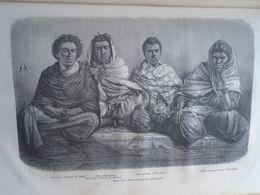 Types De Timbouktou Timbuktu  - Mali - Africa -gravure -  Engraving 1864 TDM1864.2.421 - Estampas & Grabados