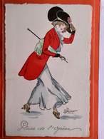 CPA.M.M Vienne. M Mune. Illustrateur Préjelan. Place De L'Opéra .Elégante Femme Avec Chapeau.  (D1.558) - Vienne