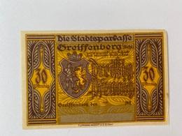 Allemagne Notgeld Greissenberg 30 Pfennig - [ 3] 1918-1933 : Weimar Republic