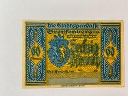 Allemagne Notgeld Greissenberg 60 Pfennig - [ 3] 1918-1933 : Weimar Republic