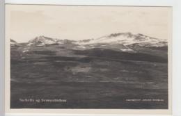 (97191) AK Snehætta Og Svaanaatindene, Vor 1945 - Norvège