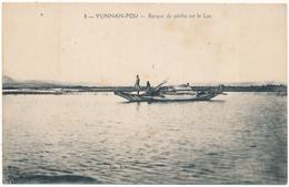 YUNNAN FOU - Barque De Pêche Sur Le Lac - China