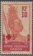 Gabon 1910-1922 - N° 81 (YT) N° 80 (AM) Neuf *. - Gabon (1886-1936)