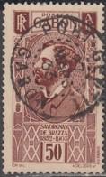 Gabon 1924-1933 - N° 136 (YT) N° 138 (AM) Oblitéré De Port-Gentil. - Gabon (1886-1936)