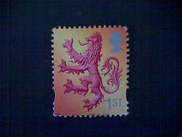 Great Britain (Scotland), Scott #21, Used(o), 2003, Lion Rampant, 1st - Ortsausgaben