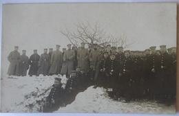 Belgien Elsenborn, Soldaten Nahkampfmittel-Kurs 1917 Fotokarte (353) - Guerre 1914-18
