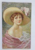 Künstlerkarte, Frauen, Mode, Hut,  1910, E. Meier ♥  - Illustrateurs & Photographes