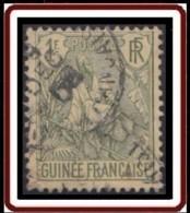 Guinée Française 1892-1907 - N° 30 (YT) N° 30 (AM) Oblitéré. - Oblitérés