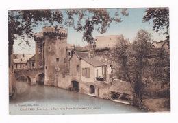 Jolie CPA Colorisée, Chartres, Eure Et Porte Guillaume, Années 1920 - Chartres