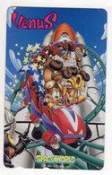 JAPON TELECARTE BD SPACE WORLD - Stripverhalen