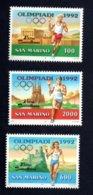 Francobolli San Marino 1991 - Nuovi - 3 Valori - San Marino